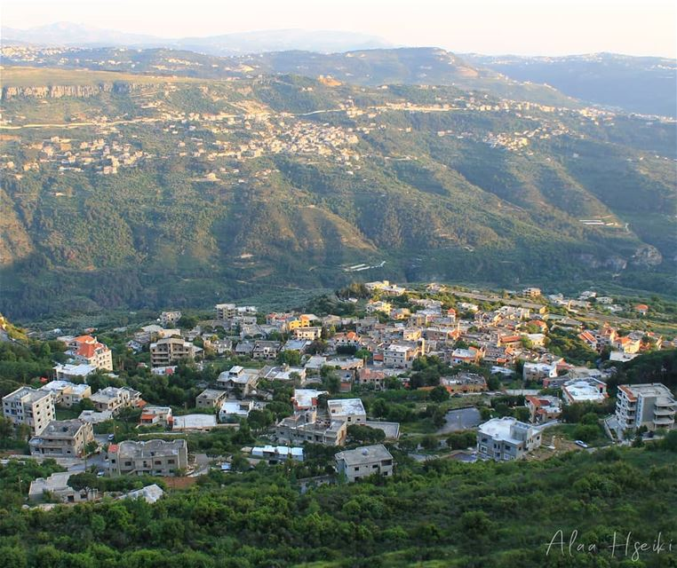 The View is Always Better from Above 🌞... Hseiki Lebanon beirut ... (Kafr Mattá, Mont-Liban, Lebanon)