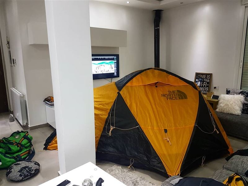 when_you_buy_a_new_tent_&_its_not_camping_time thenorthface ... (Ehden Adventures)