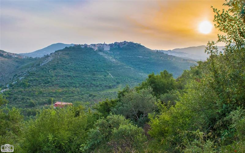 Good morning from Houmine Al Fawka hdr landscape nature lebanon ...