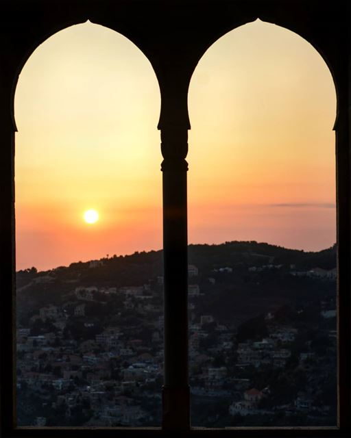 Never go too long without watching a sunset... . sunsets sunset_hub ... (Mir Amin Palace Hotel)