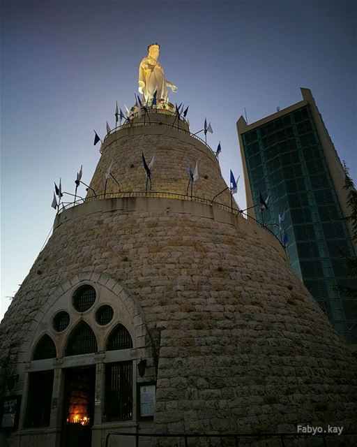 Good Morning my friends.... ____________________________________ libanon... (Our Lady of Lebanon)