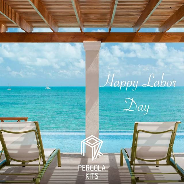 It's Your Day to Chill Under Pergola Kits.Happy Labor Day From ...