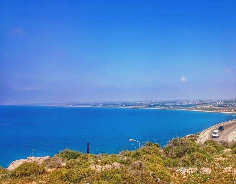 A view like this 💙 takenbyme ptk_Lebanon visitlebanon ... (Naqoura)