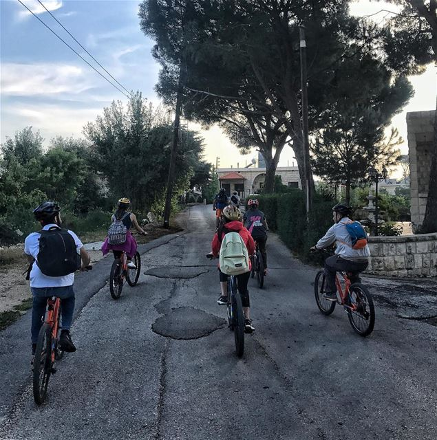Abdelle, one of our favorite Batrounian villages🚴.A catch from our... (Abdelli, Liban-Nord, Lebanon)