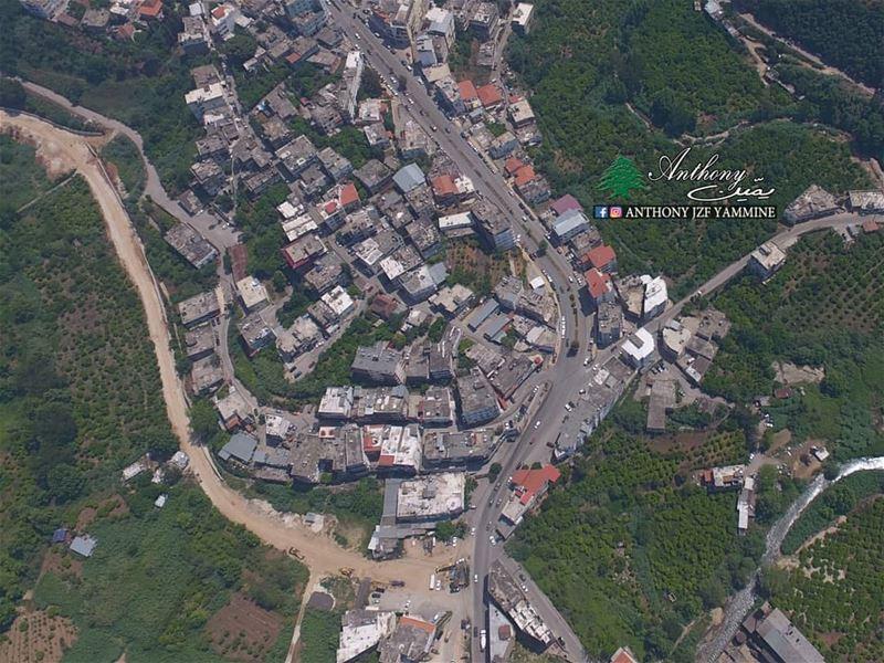 المخاضة - كتف زغرتا Flyingcam Dji Aerial_photography dronephotography ...