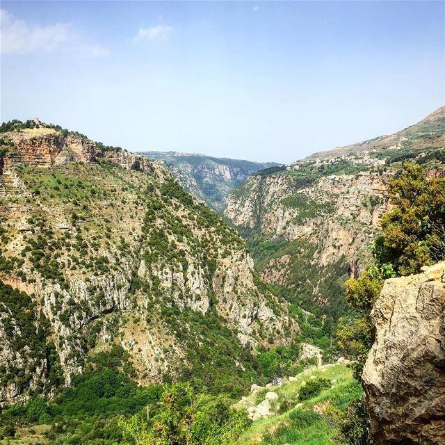 وادي ولا كل الأودية..⛰—————————— nightpost love nature trees sky ... (Ouâdi Qannoûbîne, Liban-Nord, Lebanon)