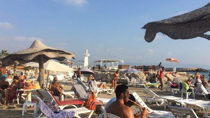 Missing Lebanese beach vibes. ☀️ beachdays summer vitaminsea sun relax... (Tyre, Lebanon)