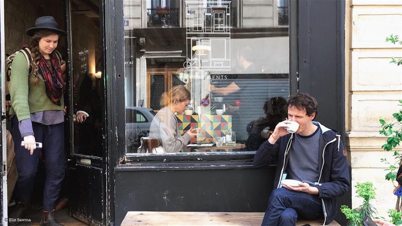 Did you ever fall in love with a coffee shop? I did so many times but this... (Fragments Paris)
