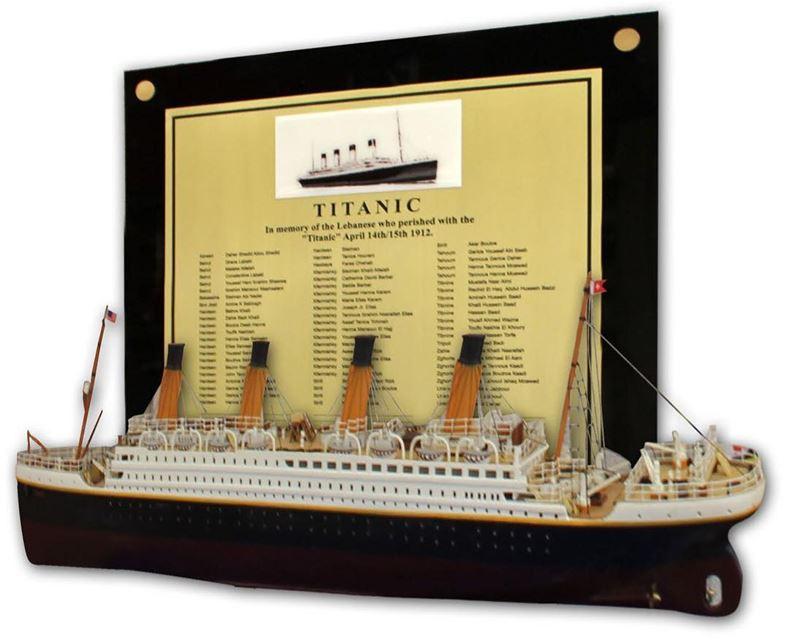 Você sabia que haviam mais de 100 libaneses a bordo do Titanic? Dentre...