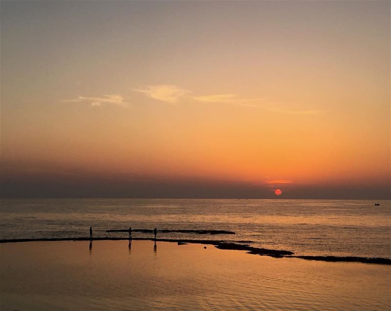 like4like likeforlike lebanon love tyre sunset heaven sky view ... (Tyre, Lebanon)