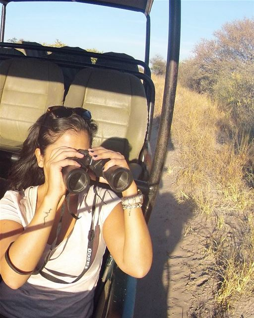 Deception Valley, Botswana: I spotted an elephant, and fell in love!...... (Botswana)