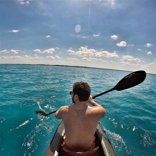 After voting, we go rowing 🚣 ExploreWithChris.. whpadventure ... (Batroûn)