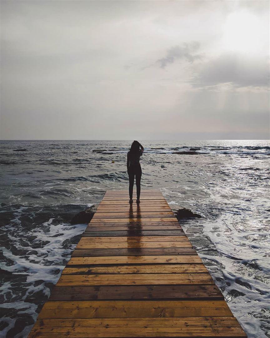 Dear Ocean, Thank you for making us feel tiny, humble, inspired, and... (Al Batrun, Liban-Nord, Lebanon)