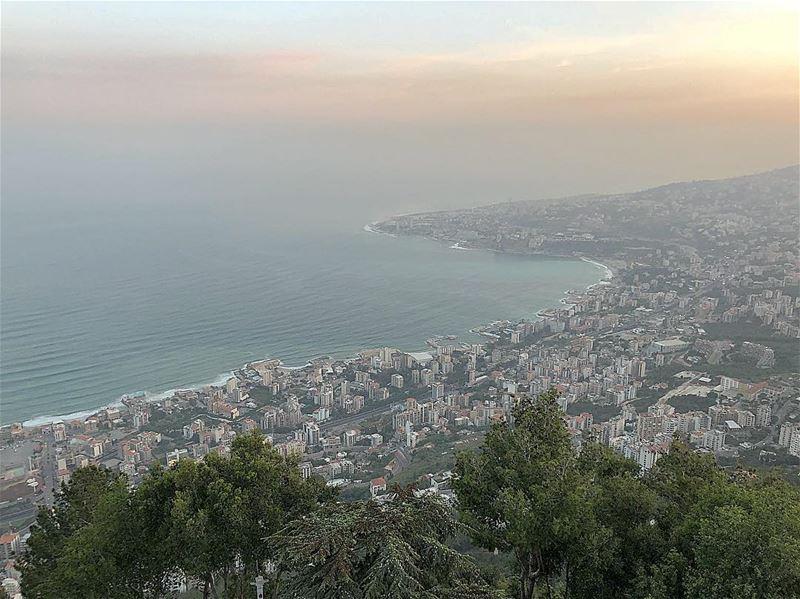 dawn harissa ladyoflebanon alba sunrise_sunsets_aroundworld sunrise ... (Our Lady of Lebanon)