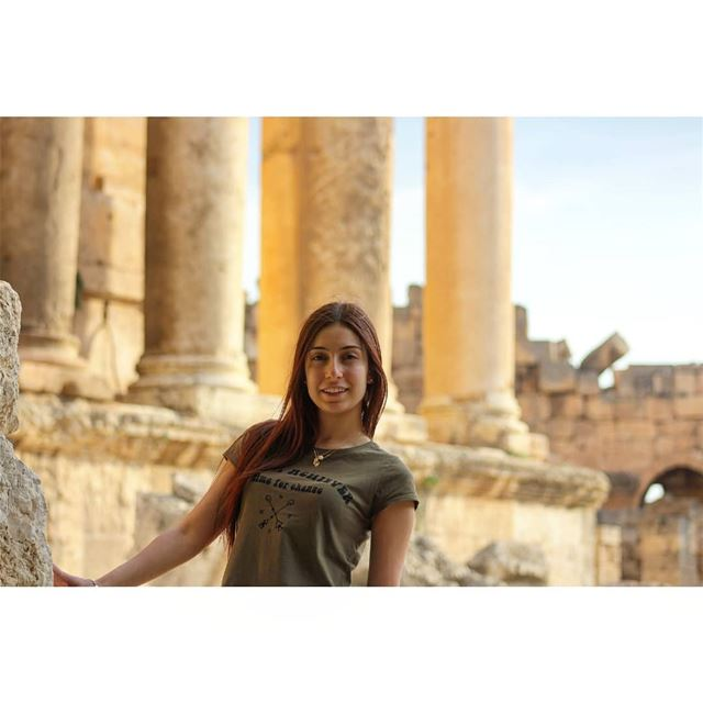 We have nothing to lose and a world to see! livelovelebanon ... (Baalbek, Lebanon)