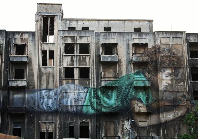 Graffiti is a form of art that cannot be put into frame... beirut  art... (Beirut, Lebanon)