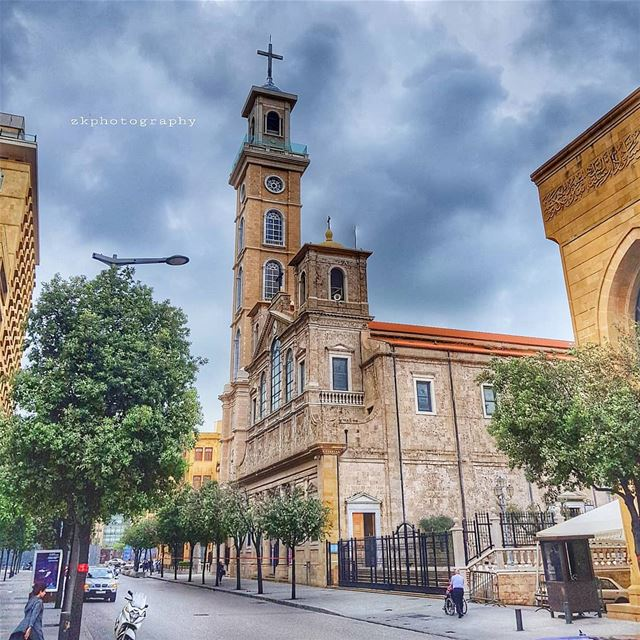 Faith is a knowledge within the heart, beyond the reach of proof.. *... (Downtown Beirut)