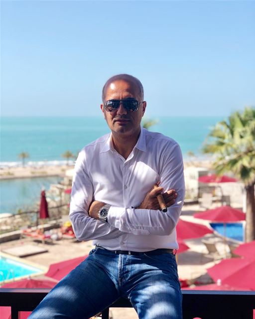 Be yourself because an original is worth more than a copy. me view cigar... (The Cove Rotana Resort Ras Al Khaimah)