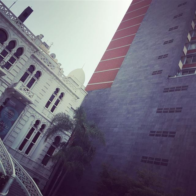 meanwhile in beirut....... beirut livelovebeirut beirutcity ... (Sursock Museum)