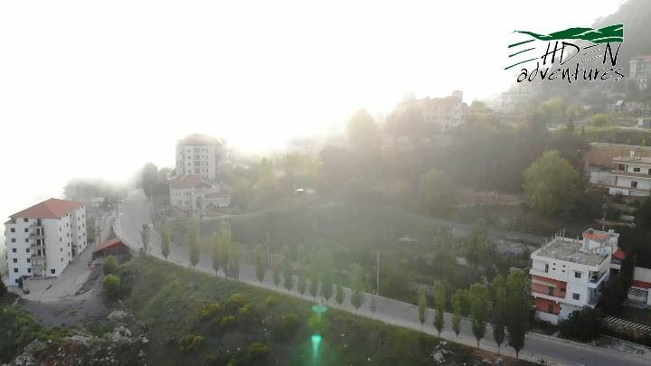 ehdenadventures ehden lebanon fog sunset maviair nature town ... (Ehden Adventures)