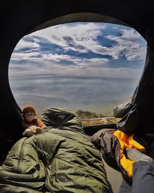 Weekend forecast: Camping with a chance of Hiking ... (Lebanon)