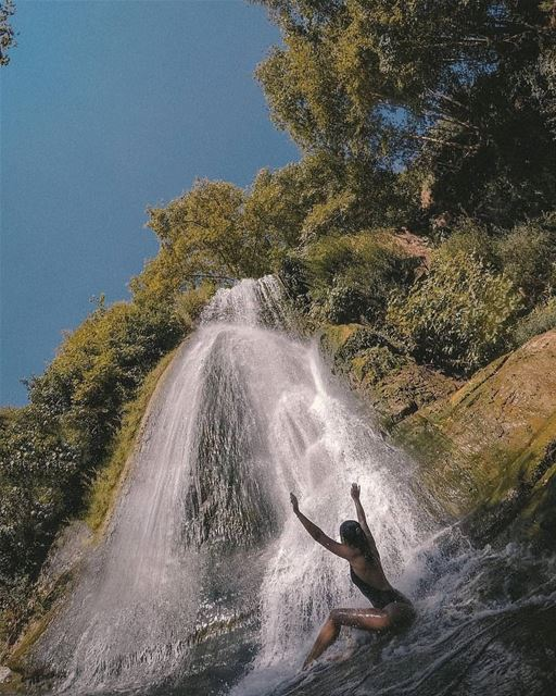 batroun kfarhelda waterfall river nature bebatrouni lebanon ... (nahr-kfarhelda)