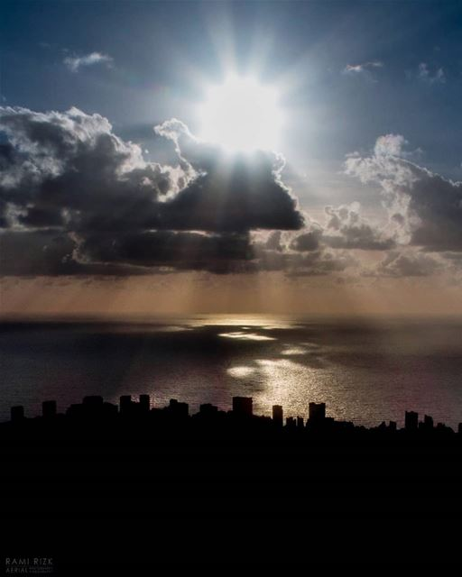 Beirut Skyline 🌆... lebanon beirut dji drones quadcopter aerial... (Beirut, Lebanon)