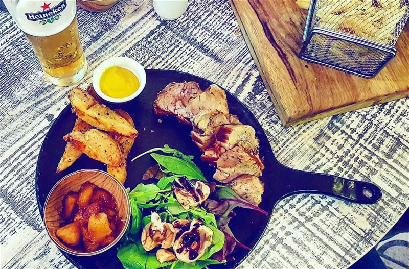 Lebanon Batroun Keel PorkSteak ... (Keel Bistrot Bar)