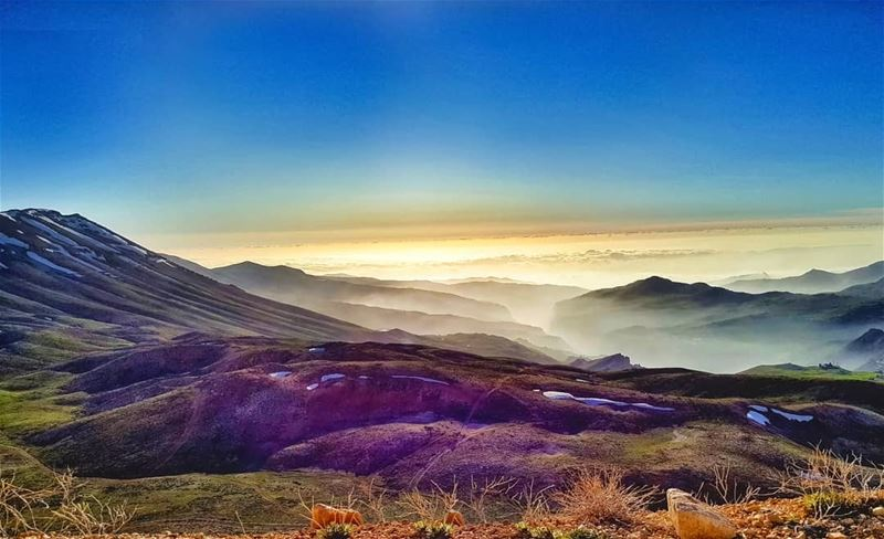 On earth, above the clouds livelovebcharre lebanoninapicture ... (Bcharreh, Liban-Nord, Lebanon)