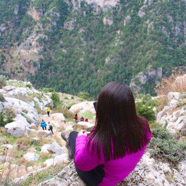 peaceofmind placelikehome qanoubin lebanon_ig peace✌ lovelyplace... (Ouâdi Qannoûbîne, Liban-Nord, Lebanon)