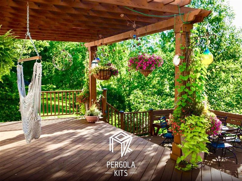 Comfort Zones are Made Under Pergola Kits. SomeMotivation ...