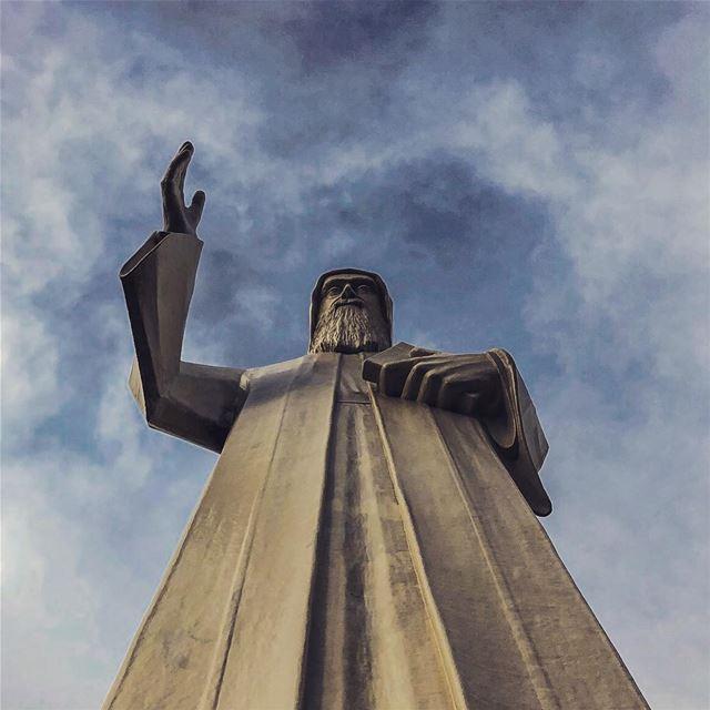 Happy belated birthday our protector 💙.......... lebanon ... (Faraya, Mont-Liban, Lebanon)