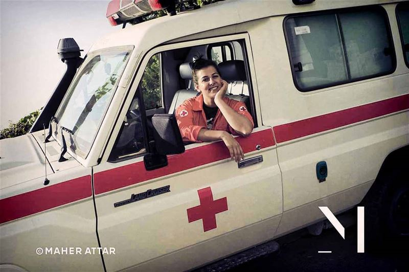 "Meet Pia .. Red Cross Volunteer .. ""To help, without asking whom!,""... (Beit Meri, Mont-Liban, Lebanon)"