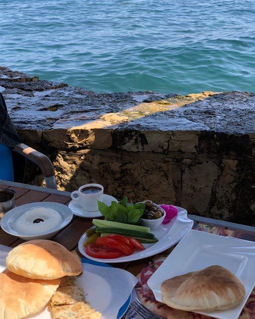Cannes? Nice? No, Beirut @manarapalacecafe beirutfood beirutrestaurants ... (Manara Palace Café)