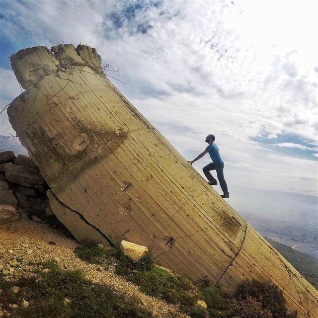 The top is relative 😎🔝⛰.... hiking hikingadventures lebanon ... (Lebanon)