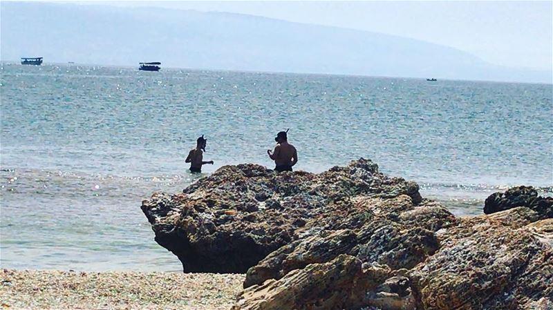 wildernesslebanon snorkeling fishing scuba adventure adventuretime... (Al Mina', Liban-Nord, Lebanon)