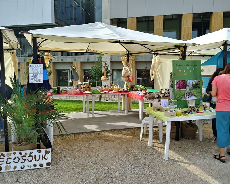 And that's a wrap with the  ecosouk  baladi pop up at the Balamand Spring... (University of Balamand - UOB)