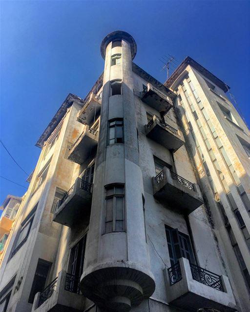 lebanese architecture artdeco décade wroughtiron lebanonstreet ...