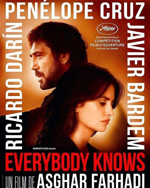 - Traduction Française ⤵️ -I had high expectations for Everybody Knows as... (Paris, France)