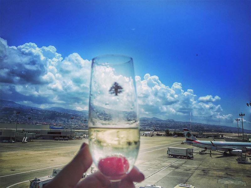 Cheers Travelers! (Beirut–Rafic Hariri International Airport)