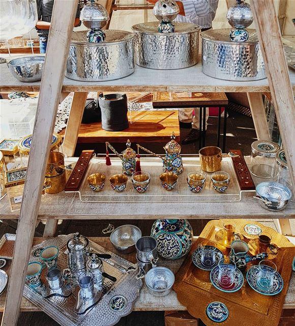 Spotted and captured at the Lebanese Designer's Market in Zaytouna Bay.... (Zaitunay Bay)