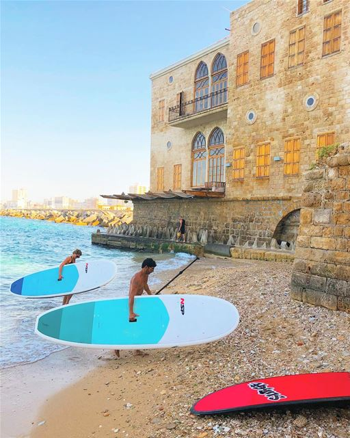 tb The end of our paddle tour in Tyre with @kayaklebanon We loved the... (Tyre, Lebanon)
