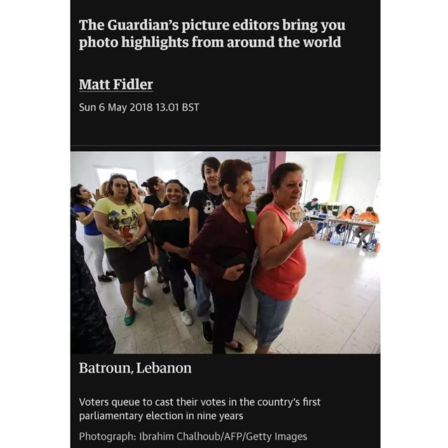 Thank you @guardian for featuring my photo from Batroun north Lebanon...