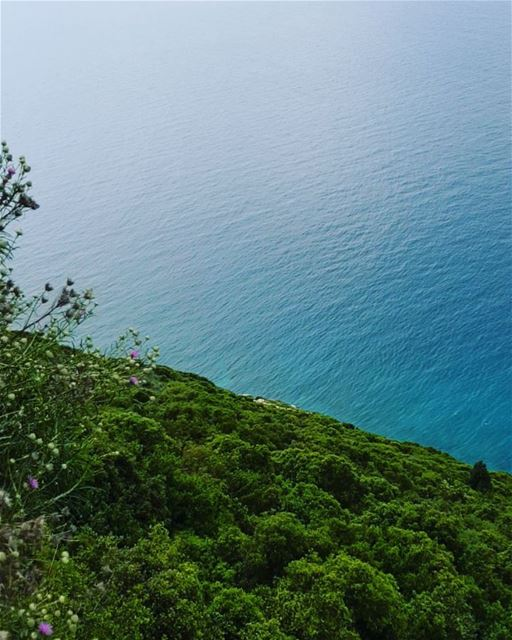 bringonsummer bringonthebeach》 sea blue seablue mountain ... (Saydet El Nourieh)