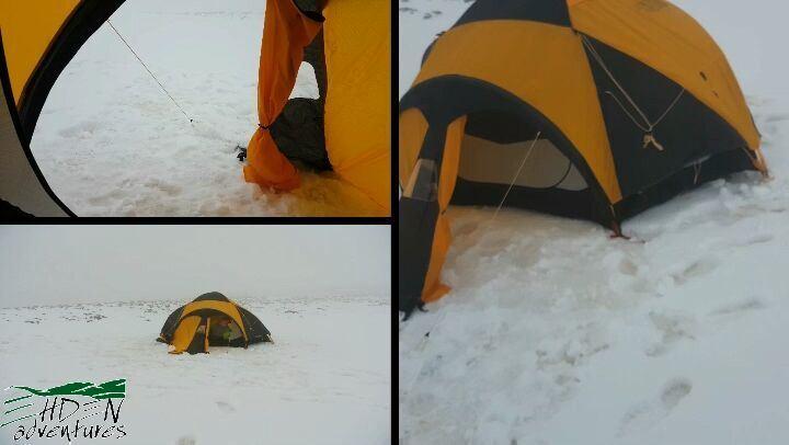 ehdenadventures thenorthface mikesportleb snow tent ve25 ... (Ehden Adventures)