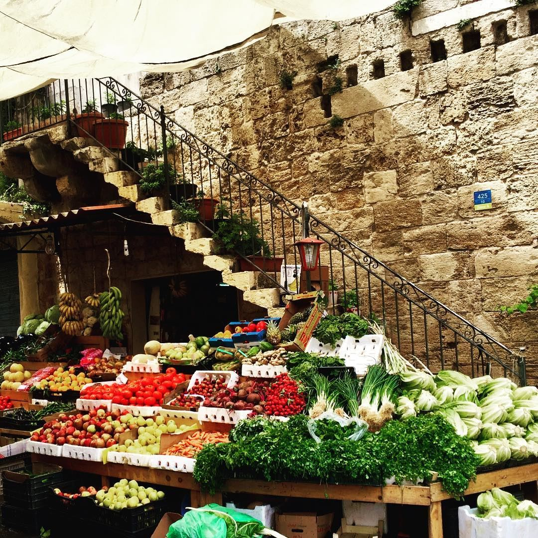 Fruit or Vegetables? Batroun oldtown ... (Batroûn)