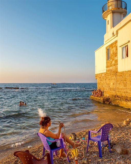Provavelmente o porto mais antigo do mundo, fundado há 6.000 anos pelos... (Tyre, Lebanon)