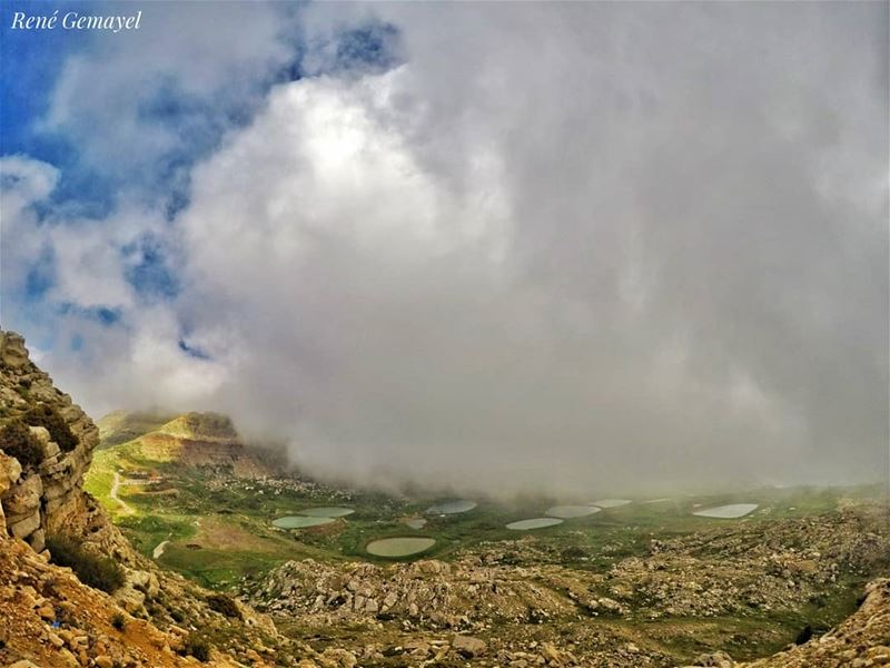 GOD sends the storm to show that he is the only shelter....... (El Laklouk, Mont-Liban, Lebanon)