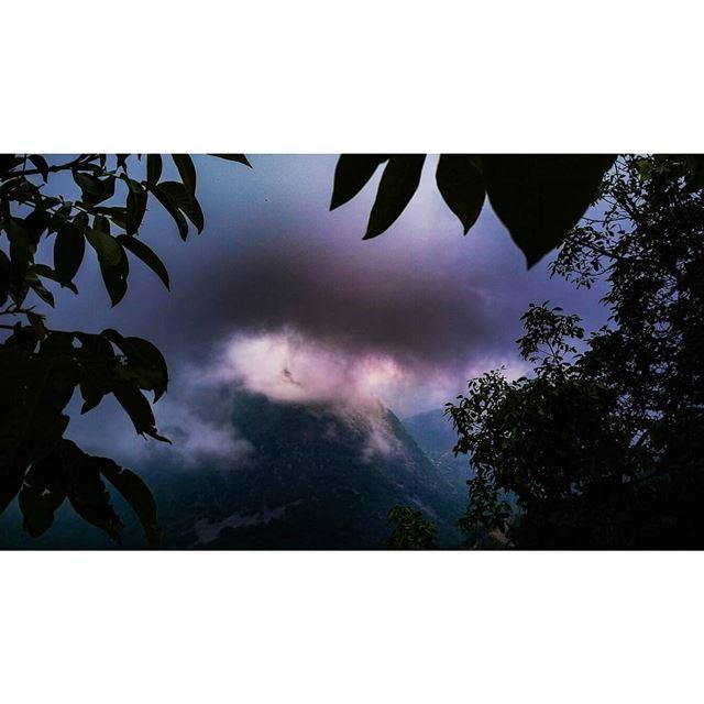 May 14 ? weather rainymorning mountainscape mountainhike ... (Lebanon)