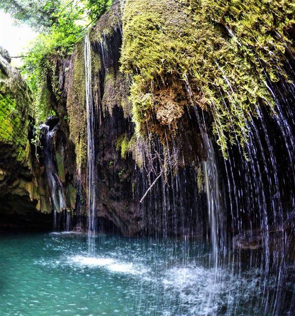 NeverStopExploring Amazing Waterfall Nature Mokhtara Chouf Lebanon ... (El-Mukhtarah, Mont-Liban, Lebanon)